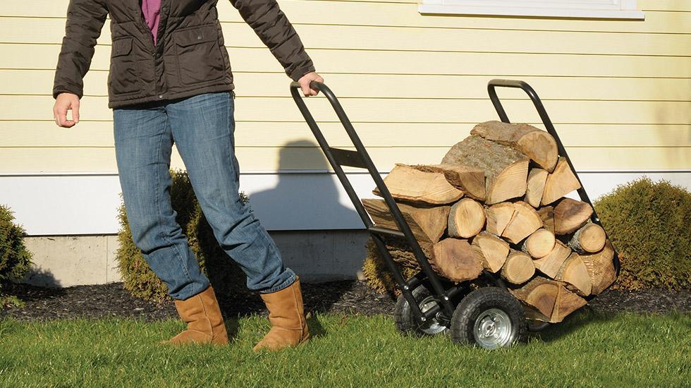 Firewood Rack, Fireplace Accessories