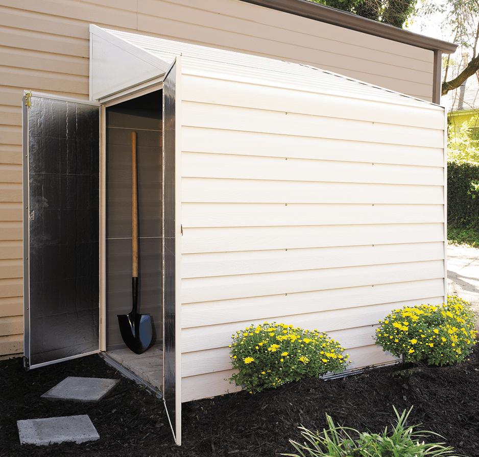 backyard sheds, backyard organization, lean to shed