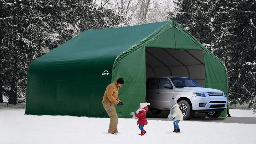 black friday buying guide, sheltertech, snow rated building, winter shelter
