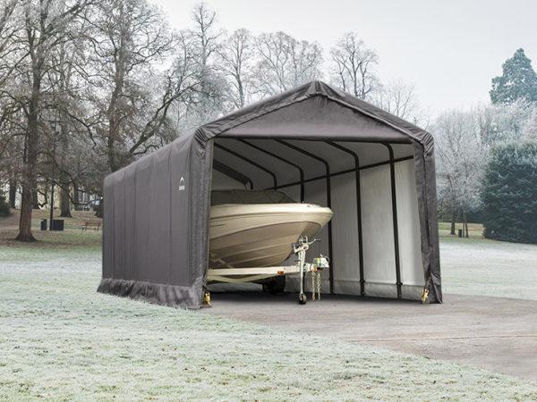 sheltertube winter storage shelter