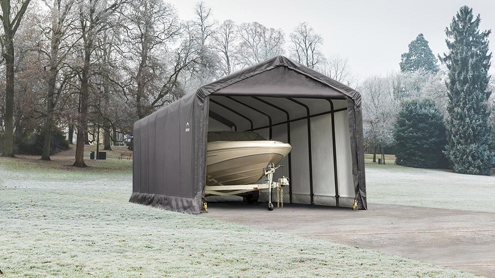 sheltertube winter storage shelter