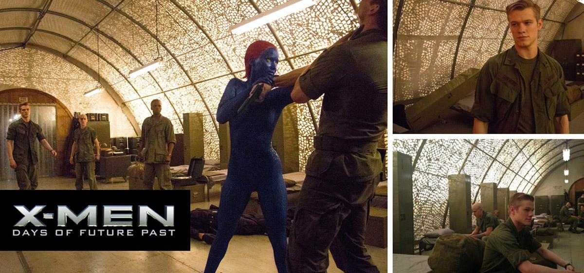 ShelterTech Used for X-men Movie