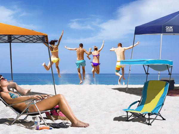 Beach umbrellas, beach gear, beach chairs Quik Shade beach Rio Brands Beach
