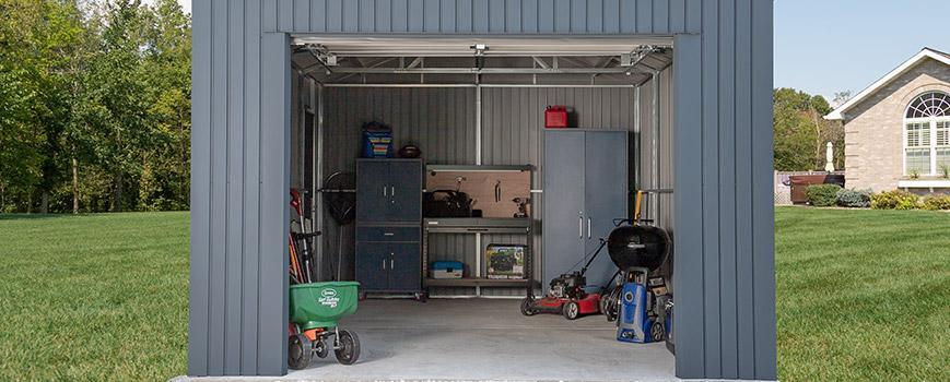 steel garages
